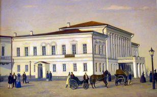 Здание Карамзинской общественной библиотеки